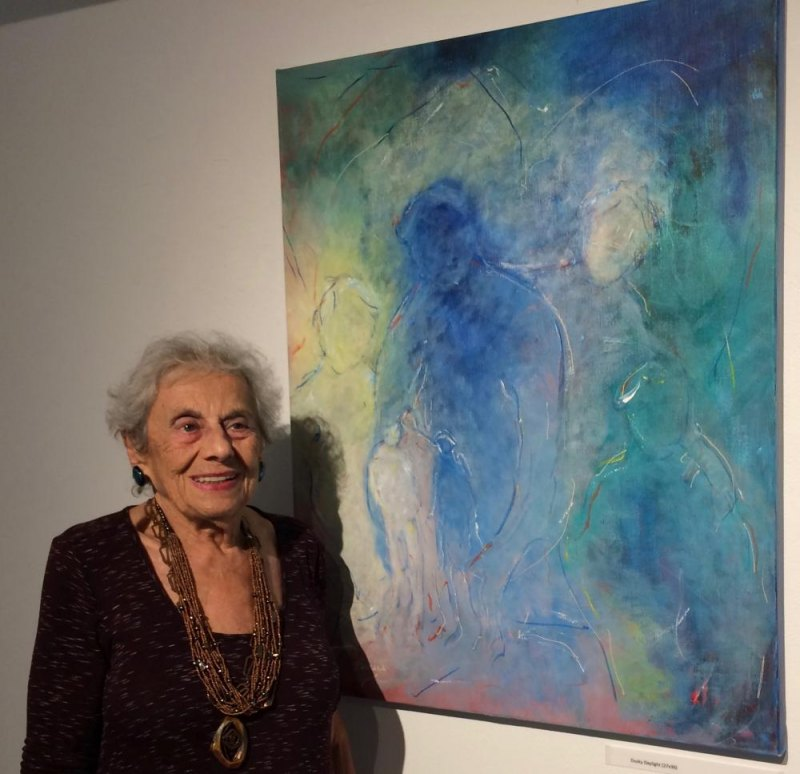 Roosevelt Island Artist and Pioneer Arline Jacoby