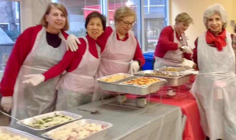 Once again, volunteers make it happen at the Senior Center