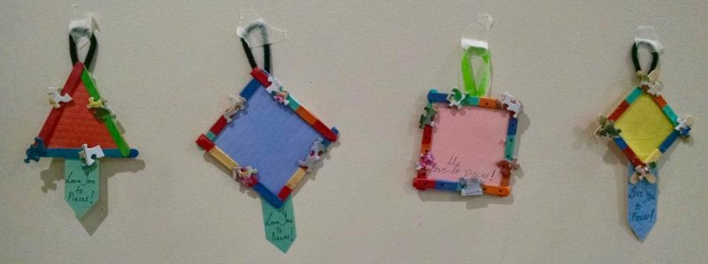 Frames Completed at Crafts With Kids