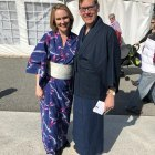 Main Street Theatre and Dance Alliance Executive Director Kristi Towey with Jim Luce