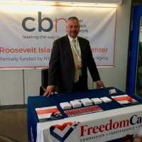 FreedomCare welcomed visitors in the lobby