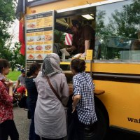 Food trucks served steady lines in Southpoint.