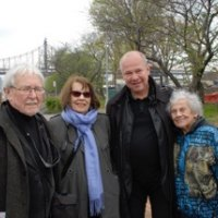 Gustav and Ulla Kraitz with RIVAA President Tad Sudol and Arline Jacoby