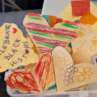 Crafts courtesy of the kids of the RI Parents' Network