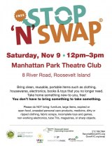 November 9th, Stop 'N' Swap, Manhattan Theatre Club