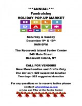 Looking for a Few Good Vendors: CBN/RI Senior Center Advisory Council