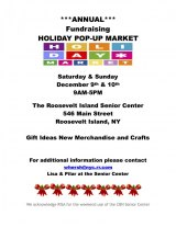 This Weekend, Holiday Pop-Up Raises Funds for the Roosevelt Island Senior Center