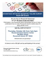 Thursday, September 4th, AdvantAge Survey To Help Seniors Launches