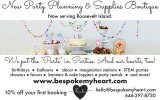 New Party Planning, Supplies, and Rentals Services on Roosevelt Island