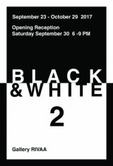 "Continuing ""Black & White 2"" at Gallery RIVAA"