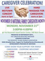 Celebrate National Family Caregivers Month on Monday, November 21st