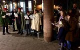 In 2018, MST&DA organized caroling at the subway before the Tree Lighting Ceremony.