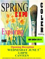 Continuing: Exploring the Arts Spring Expo, Coler Hospital, Roosevelt Island