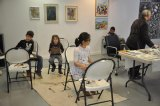 Children's art classes at RIVAA, enabled by RIOC public purpose fund grants.