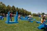 Imagination Playground at FDR Four Freedoms Park / Photo by Daniela Velasco