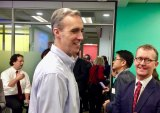 Cornell Tech dean Dan Huttenlocher in October