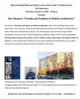 "TONIGHT: NIHS Presents Ben Hansen ""Facades and Fashions in Medical Architecture"" at NYPL"