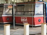 RIOC's proposed budget risks giving discarded old tram cabins some new company.
