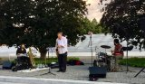 Music in the evening, last summer at FDR Four Freedoms Park