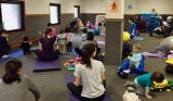 Photo from a recent MoM Yoga Session provided by the RI Parents' Network