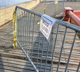 Lighthouse Park visitors deal with closed bridges by moving and ignoring signs. Months have passed without repairs.