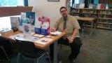 The late Justin VanPoelvoorde, Senior Librarian, Roosevelt Island Library