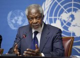 Kofi Annan in 2012 while serving as Joint Special Envoy to the United Nations