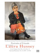 "Laura Hussey's ""Portraits of Friends"" Joins The Octagon's Gala Opening"