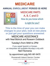 Tuesdays, Free Medicare Enrollment and Guidance, CBN/RI Senior Center