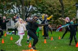 A dancing Happy Halloween! to Roosevelt Island from Main Street Theatre & Dance Alliance