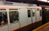 2014 brought a surprise when this vintage M Train arrived on the Sixth Avenue tracks at 14th Street.