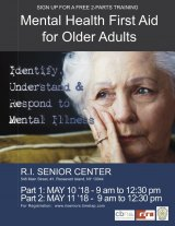 Learn to Help and Prevent: Mental Health First Aid for Seniors