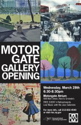RIOC Announces 2018 Motorgate Gallery Opening, March 28th