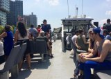 Summertime on the NYC Ferry Astoria Route