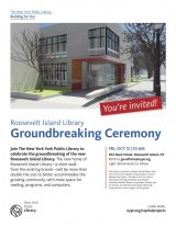 New Roosevelt Island Library to Break Ground Friday
