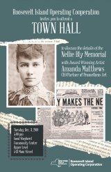 December 3rd, Town Hall/Nellie Bly Memorial