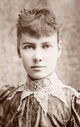 Nellie Bly, aged 26, three years after her historic visit to the Blackwell's Island insane asylum for women.