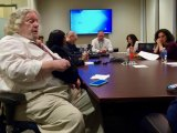 Departing RIOC CFO Kimberly Quinones (second from right) at a RIOC committee meeting, earlier this year.
