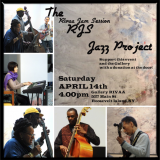 April 14th, Jazz Jam at Gallery RIVAA