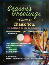 Season's Greetings, Roosevelt Island, from RIVAA, the Artists Collective