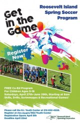 RIOC Youth Center Spring Soccer Registration Opens