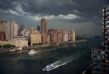 Racing the Storm, Roosevelt Island and East River