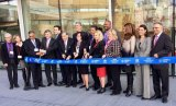 Ribbon Cutting: The Bridge becomes the Tata Innovation Center