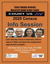 Tuesday, February 25th, All You Need To Know About the 2020 Census, Including Jobs