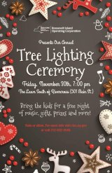 November 30th, Roosevelt Island Tree Lighting
