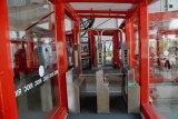 Roosevelt Island Tram's north cabin limited to 50% capacity.