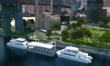 Artist's Rendering of the Roosevelt Island Ferry Landing