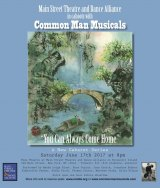 Saturday, June 17th, You Can Always Come Home, Common Man Musicals at MST&DA