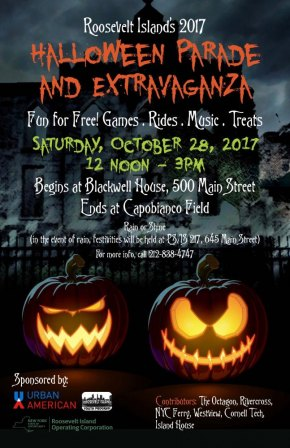 Saturday, October 28th, Noon to 3:00, Annual Halloween Parade & Extravganza