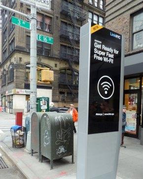 LinkNYC Free Wi-Fi Kiosk Coming Soon - With Company